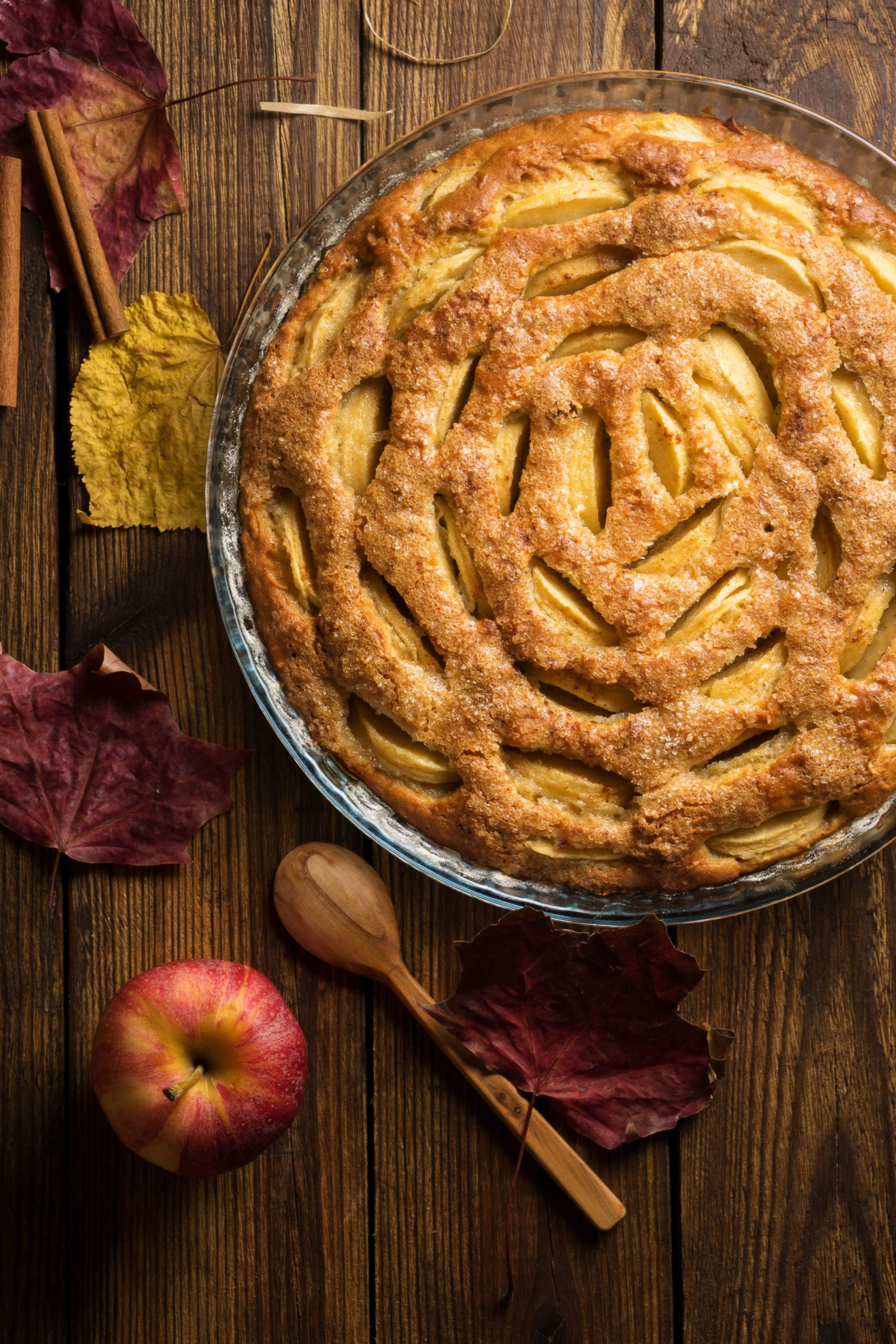 Apfelkuchen Rezept (schnell und einfach)