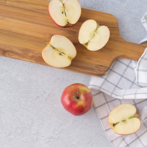 Äpfel in einem Pauschal Rezept (Äpfel im schlafrock Rezept)