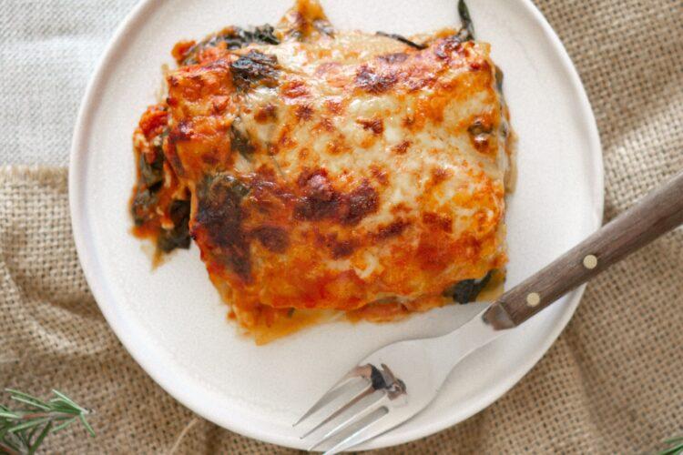 Welcher Käse für Lasagne?