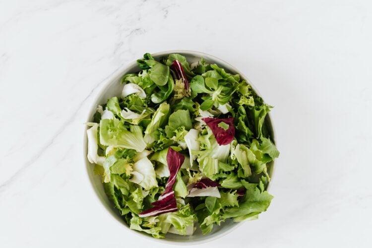 Wieviel Salat pro Person?