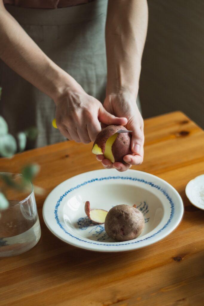 Wie viel wiegt eine Kartoffel?
