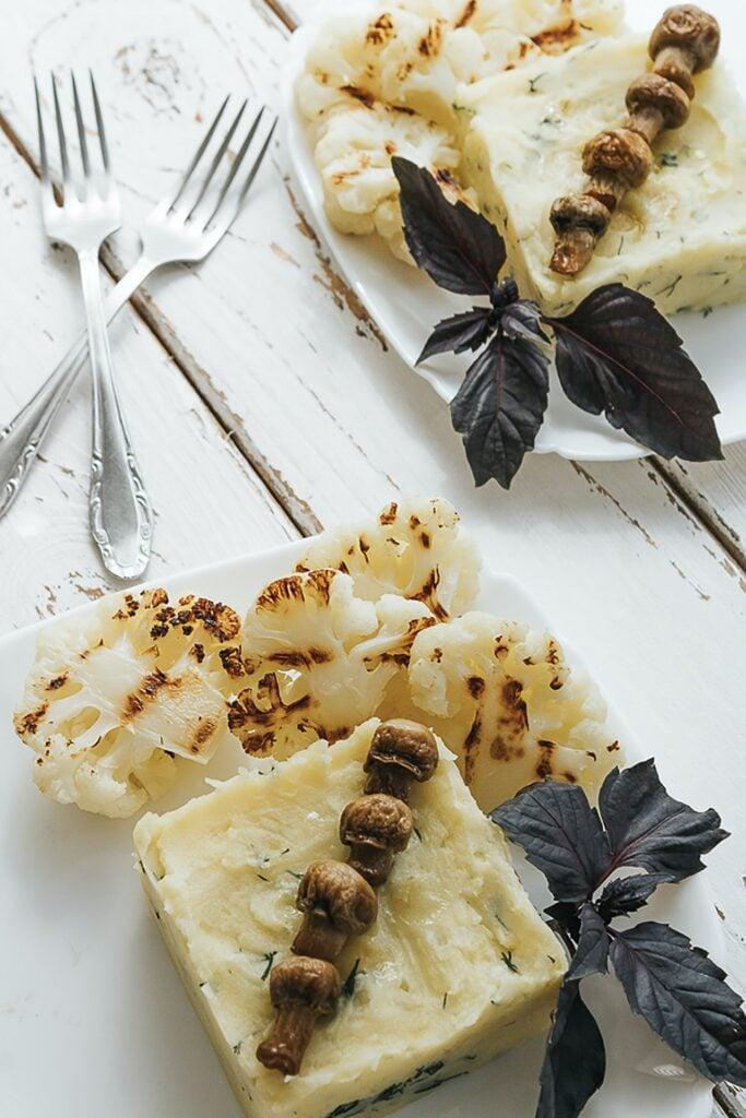Was kann man zu Kartoffelbrei essen?