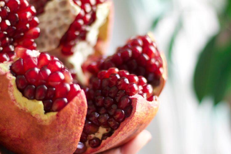 Kann man Granatapfelkerne einfrieren?